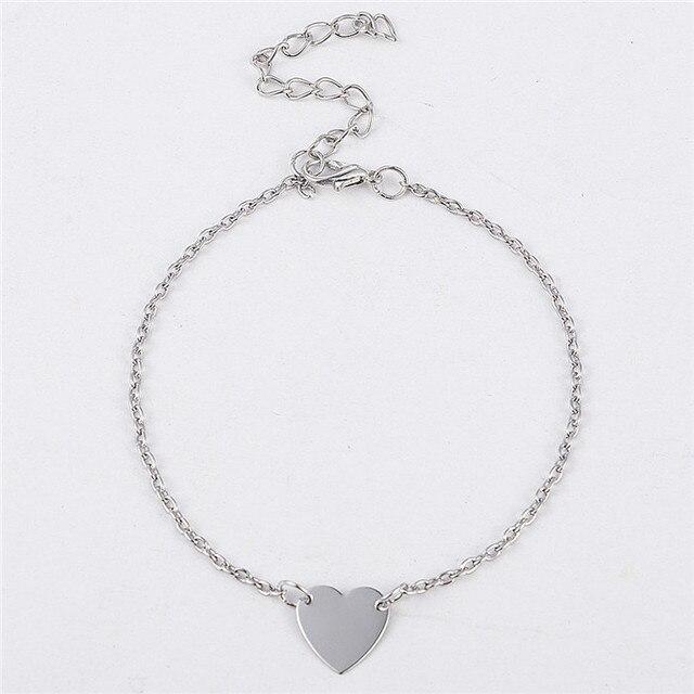 Simple Heart Bracelets...