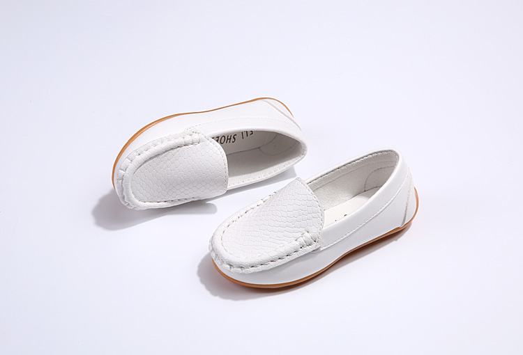 H5b1e1b8fcb2e47f485a7f7ce2b903d580 - SKOEX Boys Girls Shoes Slip-on Loafers Oxford PU Leather Flats Soft Kids Baby First Walkers Mocassins Children Toddler Sneakers