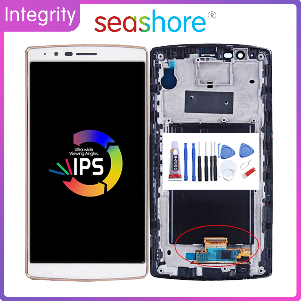 ORIGINAL For LG G4 LCD Touch Screen Digitizer Assembly For LG G4 Display +Frame Replacement H815 H815TR H815P H812 LS991 US991 image