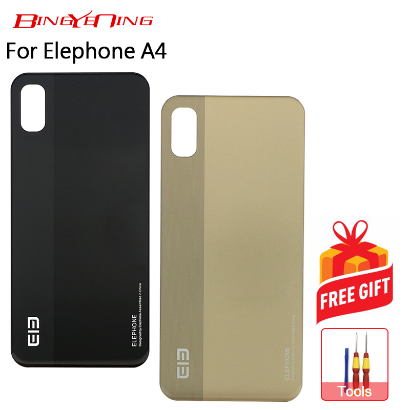 BingYeNing New Original battery case Protective Battery Case Back Cover For 5.85 inch Elephone A4/A4 Pro Phone