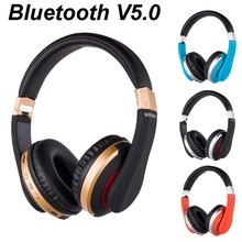9D stereo Gaming Foldable Bluetooth V5.0 Headphones Wireless Earphone HiFi Music Handsfree Headset Noise cancelling 2015 new wireless bluetooth sunglasses sport stereo headphones earphone call music handsfree headset glasses