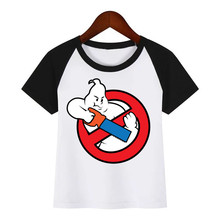 Children Ghost Busters New Cartoon T-shirt Boy Girl Funny Tops Hipster Summer Tees Tshirts Outfit Kids Fashion Clothing T Shirt harajuku fashion graphic tees women colored cactus t shirt slim fit cute girl s tshirts tees