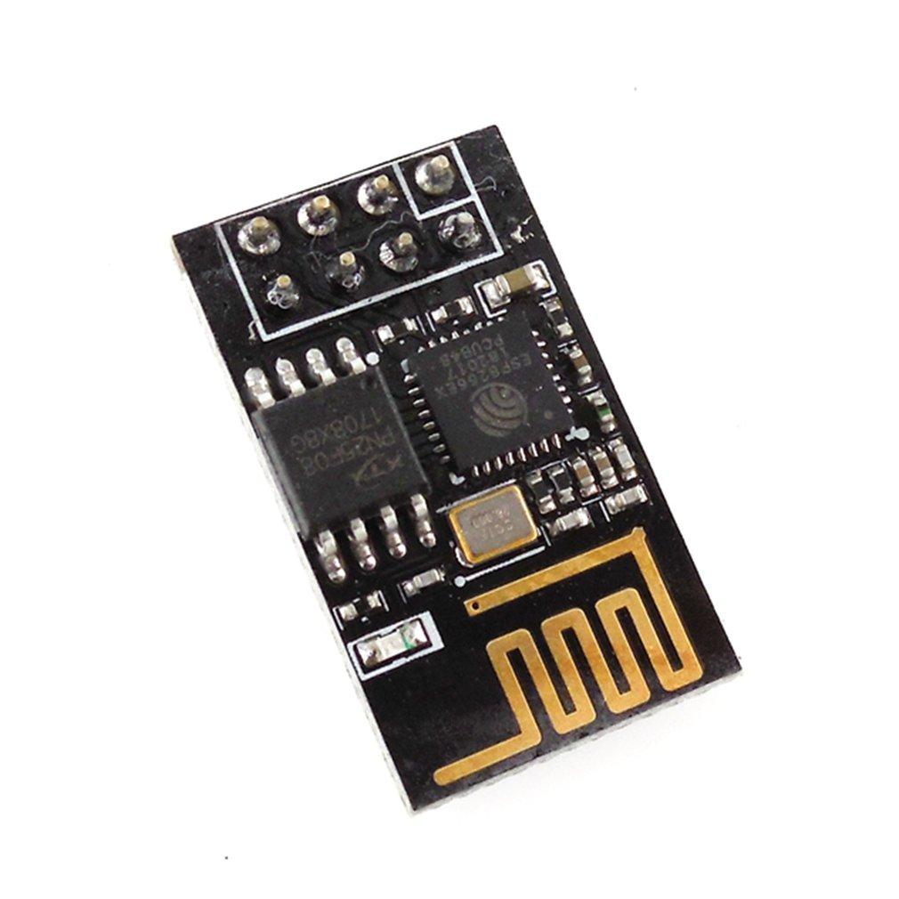 HW-A8ESP8266 Serial WIFI Wireless Module Black
