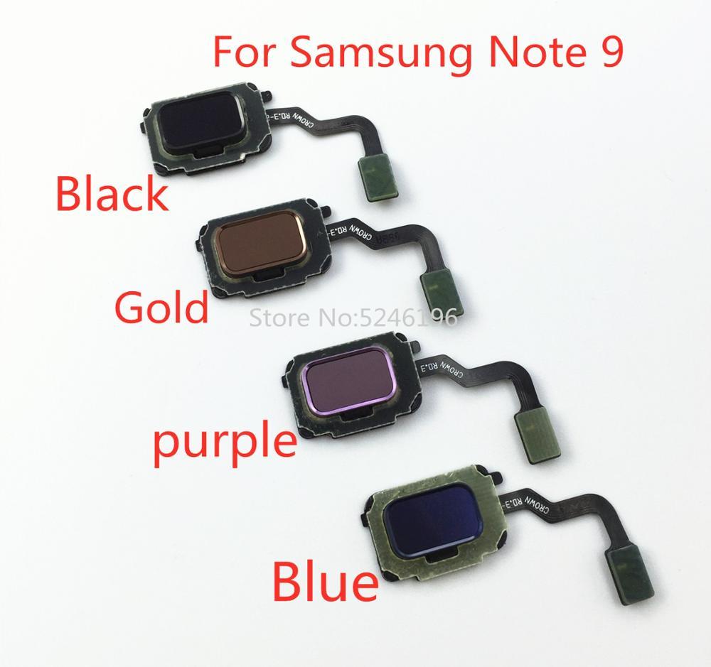 Home Return Key Menu Button Fingerprint Sensor Flex Cable For Samsung Galaxy Note 9 N960F N960U N960N N9600 Touch Repair Part