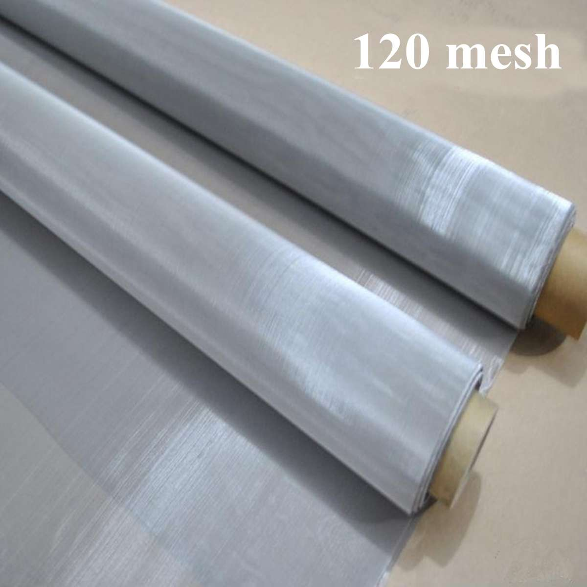 30x90cm Stainless Steel Woven Wire Filter 120 Mesh 125 Micron Sheet Cloth Screen Filtering Weather Resistance For Home Tool