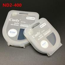 40,5 49 52 55 58 62 67 72 77 82 мм ND Fader ND2 400 переменной нейтральной плотности фильтр для цифровой зеркальной камеры Canon Nikon Sony Камера объектив