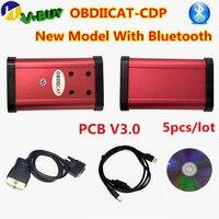 5pcs DHL TCS OBDIICAT CDP V3.0 NEC GEZ 2016.00/2015R3 keygen for CAR/TRUCK Code reader obd2 Diagnostic Tool PK MVD Multidiag