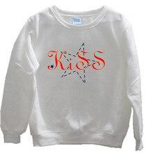Fashion tide men and women sportswear letter print pullover plus velvet shirt autumn sweatshirt winter coat
