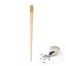 Wysokiej jakości 18cm Handmade Bamboo Chashaku Matcha Scoop Retro japońska zielona herbata ceremonia Matcha Scoop Tea Sticks Tool tanie tanio TPXCKz CN (pochodzenie)