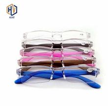 MOLNIYA okulary do czytania w stylu Vintage przenośny okulary do czytania okulary do lupy Vision okulary korekcyjne okulary soczewki dla Panrents tanie tanio Kobiety Mężczyźni Unisex Jasne Lustro Z tworzywa sztucznego H185