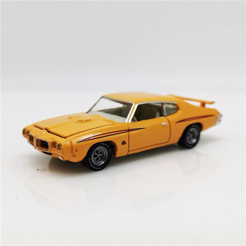 Greenlight 1:64 1970 Pontiac GTO Orange/Orange Green Machine No Box