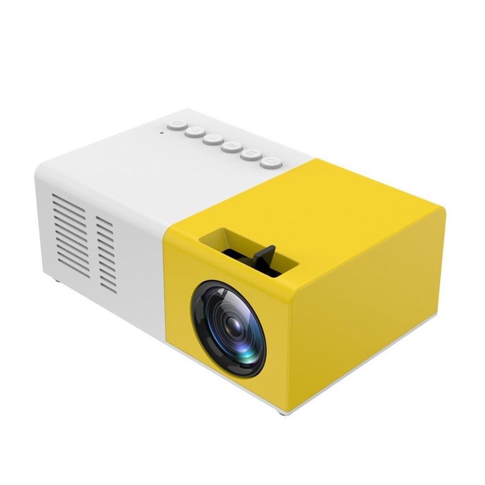 J9 mini projetor portátil suporte hdmi-compatível av usb hd 1080p vídeo media player led mini projetor de cinema em casa computador portátil-0