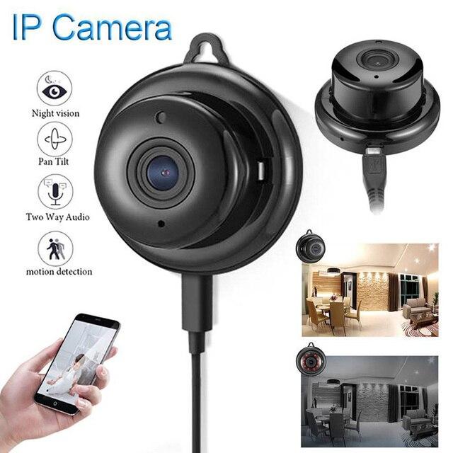 Cámara inalámbrica PTZ Wi Fi Micro Video CCTV vigilancia de seguridad con Wifi Mini cámara IP Nanny Cam Camara para el Sensor de movimiento del teléfono
