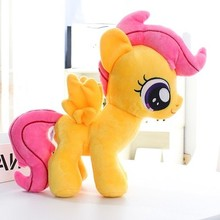 Плюшевые куклы, чучела животных Лошадь скутало Единорог детские игрушки отличный подарок