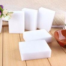 50/100 pces magia melamina esponja limpeza nano esponja mágica escritório cozinha eficiente conveniente limpo acessório/prato 10*6*1.7cm