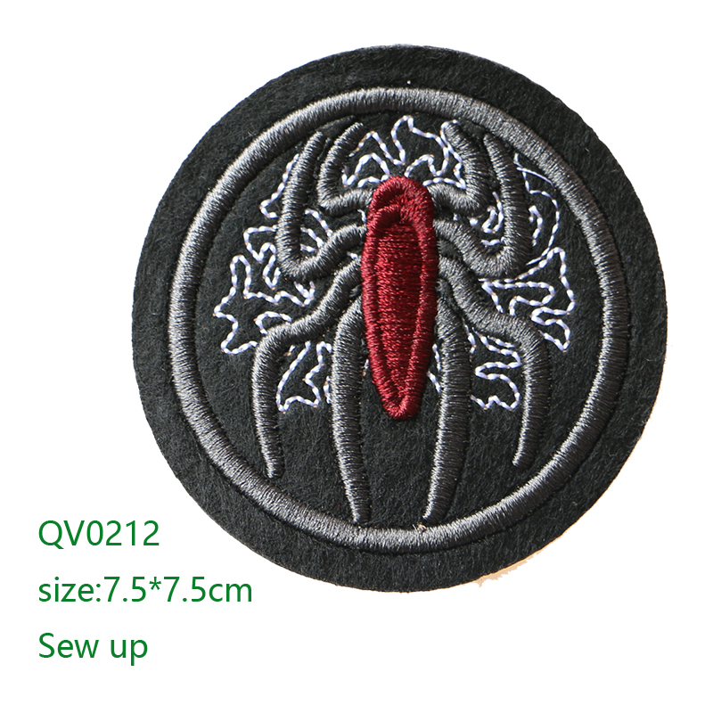 1PC~SHOP TIL YOU DROP~IRON ON EMBROIDERY APPLIQUE PATCH