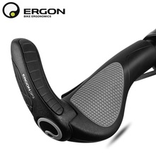 Mountain Bike Handlebar Grips ERGON GP1 GP3 GP5 Bicycle Bar End Mount Clamp Handle Grip Ergonomics Rubber Road Cycling Lock Grip