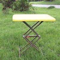 접이식 테이블 리프팅 휴대용 식탁 야외 컴퓨터 테이블 간단한 자동차 다기능 소형 노트북 책상 노트북 책상 가구 -