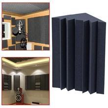 Soundproofing Foam Acoustic Bass Trap Corner Universal Fire Retardant Moistureproof Absorbers for Meeting Studio Room