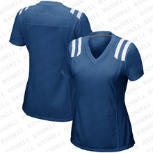 Hot Women's Football Lndianapolis Fans Sports Jersey Andrew Luck Jacoby Brissett Darius Leonard T.Y. Hilton Gore Blue jerseys(China)