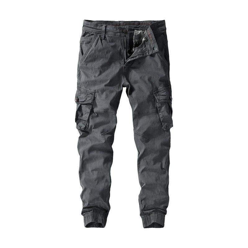 Large Size Autumn Men'S Wear Loose Bib Overall Trousers Men's Large Size Multi-pockets Casual Pants Men's
