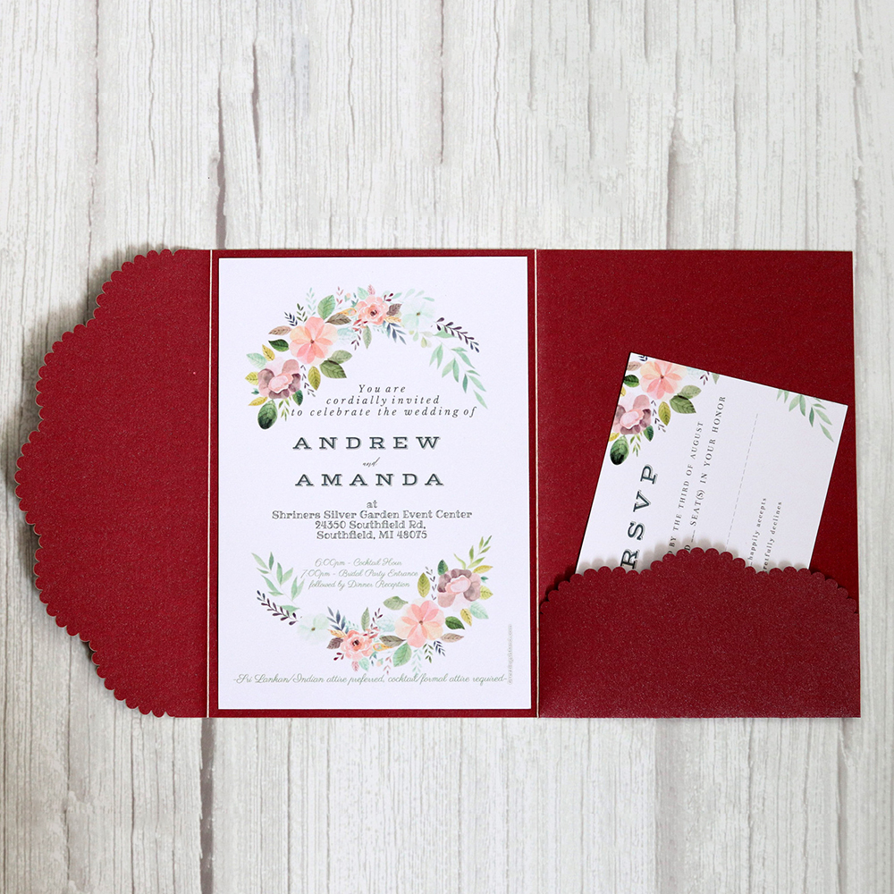 Paper Laser Cut Business Annual Wedding Baby Shower Invitation Greeting Cards With Envelopes Custom Party Supplies Musical Greeting Card Musical
