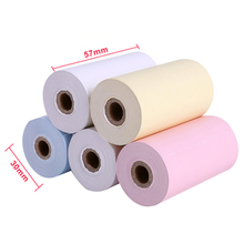 5 Rolls Paper Thermal Papers For Office Electronics Mini Printer Accessories Roll Diameter 30mm Paper Width 57mm