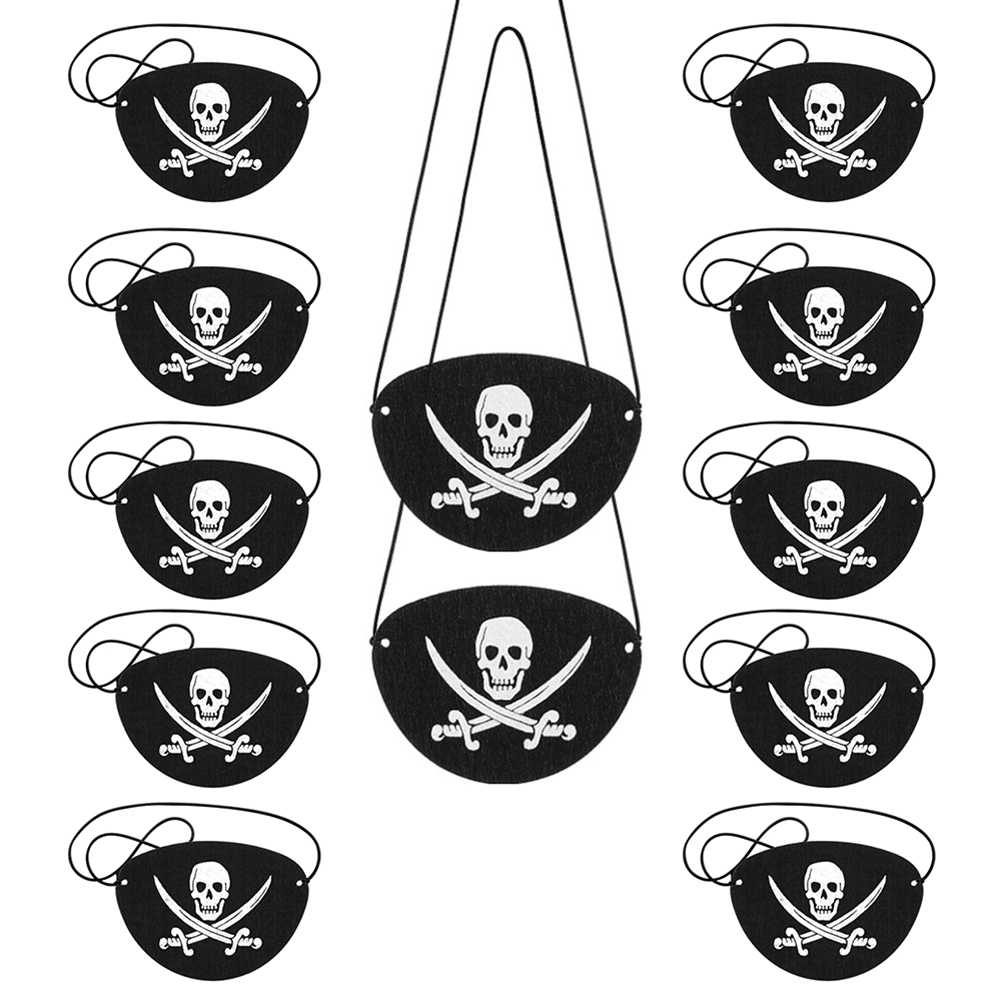 Accesorios De Disfraz De Pirata Para Ninos Sombrero Parche De
