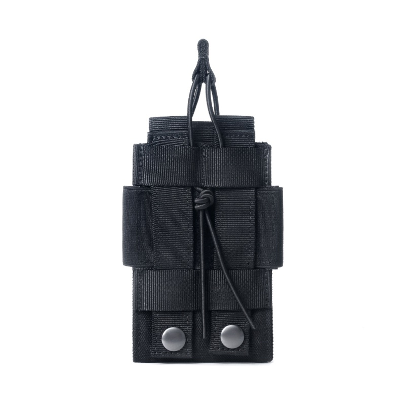 Solo Rifle Pistola Táctica De Parte Superior Abierta Clip de cartucho de bolsa del Mag Bolsa Bolsa De Caza