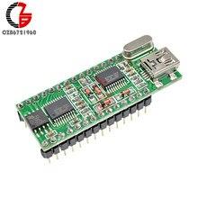 WT588D-U-32M controlador de sonido de 5V Mini USB WT588D-U Control de voz de 32M DC 2,8 V 5,5 V DAC PWM WAV de salida