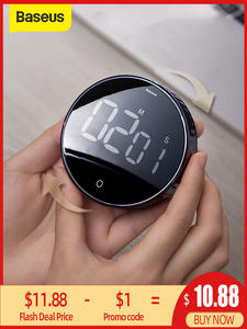 Digital-Timer Alarm-Clock Stopwatch Led-Counter Cooking-Shower Study Magnetic Kitchen
