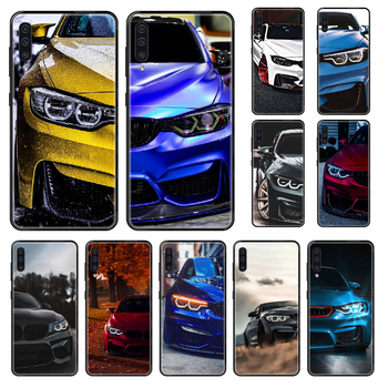 Blue Red Car for Bmw Phone case For Samsung Galaxy A 3 5 8 9 10 20 30 40 50 70 E S Plus 2016 2017 2018 2019 black luxury image