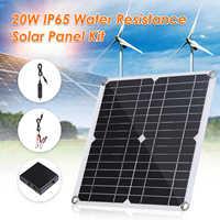 Panel Flexible Solar de 50w/100w con controlador 10-20A, 12V, 24V, cargador de coche para RV, barco, pantalla LCD, controlador PWM, novedad