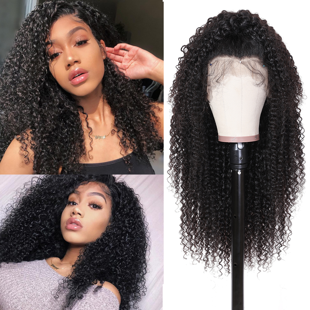 Image 3 - Nadula Curly Human Hair Wig 13*4/6 Brazilian Wigs Lace Front Remy Hair Swiss Lace Frontal Wig Natural Hairline With Baby Hair-in Human Hair Lace Wigs from Hair Extensions & Wigs