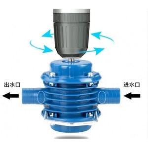 Image 4 - Heavy Duty Self Primingเจาะมือไฟฟ้าปั๊มน้ำบ้านสวนแรงเหวี่ยง