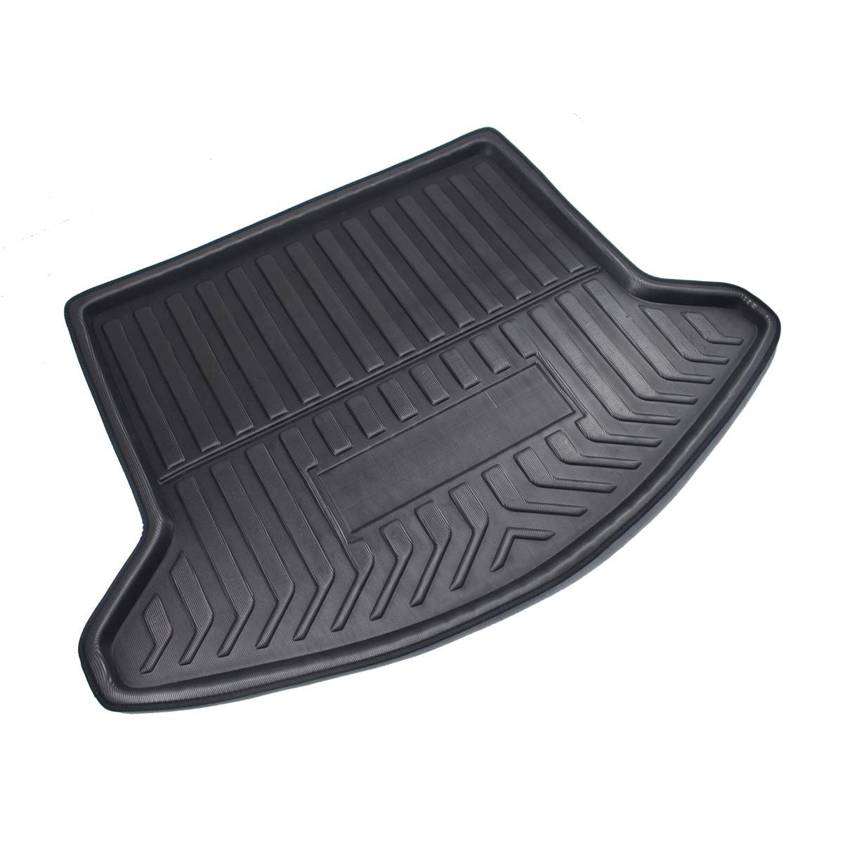 Image 3 - Cargo Liner Boot Tray Rear Trunk Cover Matt Mat Floor Carpet Kick Pad Mud Non slip For Mazda CX 5 CX5 MK2 2017 2018 2019 2nd