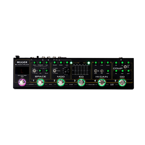 Image 4 - MOOER BLACK TRUCK 6 in 1 Combined Guitar Pedal Compressor +Overdrive +Distortion + EQ +Modulation +Delay/Reverb Built in Tuner