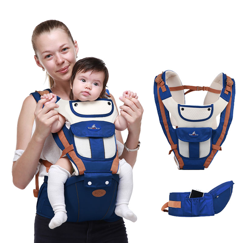 Waist Stool Carriers Ergonomic Baby Backpacks Wrap-Sling Hipseat Breathable O-Type-Leg