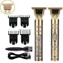 Professional Hair Trimmer For Men Recharge Cordless Hair Clipper Baldheaded Electric Razor Barber Beard Hair Cutting Machine