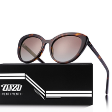 20/20 ブランドファッション猫目偏光サングラス女性男性クラシックサングラス駆動ユニセックス眼鏡 oculos AT8171