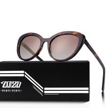 20/20 ماركة موضة عين القط الاستقطاب النظارات الشمسية النساء الرجال خلات الكلاسيكية نظارات شمسية القيادة للجنسين نظارات Oculos AT8171