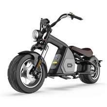Armazém europeu novo modelo scooter elétrico 2000w roda de gordura citycoco m8 adulto motocicleta chopper
