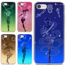For Samsung Galaxy A10 A40 A50 A70 A3 A5 A7 A9 A8 A6 Plus 2018 2015 2016 2017 Soft Cases Cover Anime Sailor Moon Crystal(China)