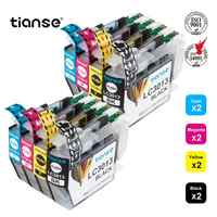 TIANSE 8PK Compatible Ink Cartridges Replacement for Brother LC3013 LC3013XL Ink Works with Brother MFC-J491DW MFC-J497DW Print