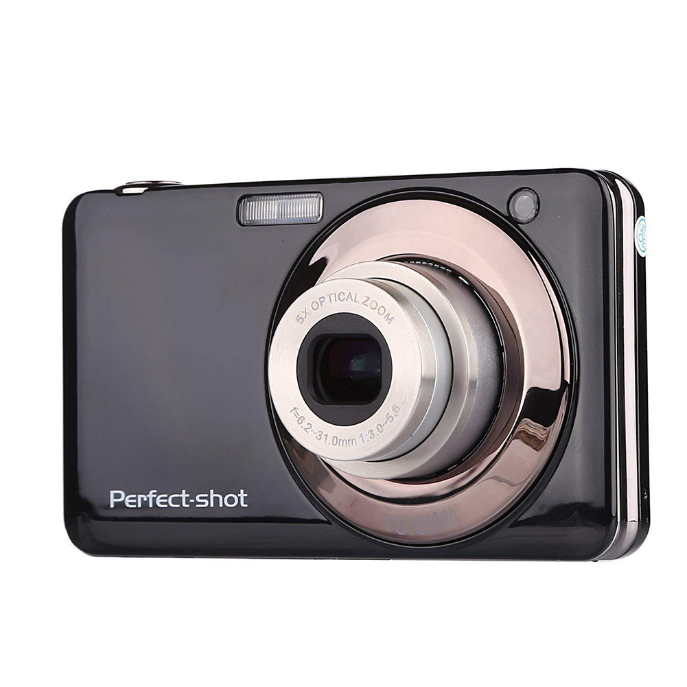 24MP High Definition Compact Lithium Battery Portable Digital Camera Outdoor Anti-shake Video Record Optical Zoom Colorful Photo