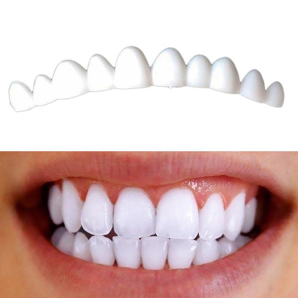 1 Box 3Pcs Dental Veneers For Teeth False Smile Veneers On Teeth ZMB2458 Fix Color Natural Removable Kit Veneers Tooth K8U1