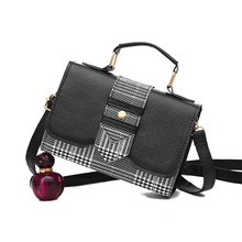 New Shoulder Bag Women Fashion Bag PU Leather Tote Designer Ladies Small Square Bag Female Simple Messenger Bag Bolsa Feminina