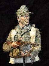 1/10 oude warrior man GK buste speelgoed Resin Model Miniatuur Kit unassembly Unpainted