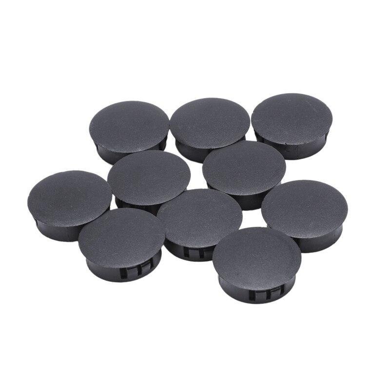 10 Pieces Plastic Hole Cover Caps Socket Caps Plug 30mm X 35mm X 11mm