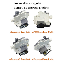 الجبهة الخلفية Left Right الباب قفل المحرك 4F1837015G 4F1837016 لأودي A3 A6 C6 A8 R8 S3 A4 S6 S8 RS3 RS6 مقعد EXEO